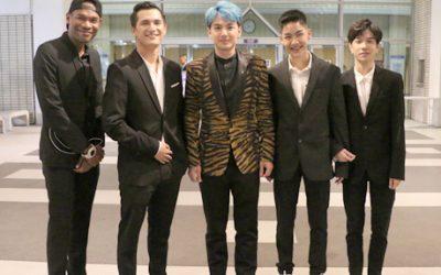 นักแสดงจากภาพยนตร์เรื่องพี่นาค รวงานประกาศรางวัลภาพยนตร์แห่งชาติ สุพรรณหงส์ ครั้งที่ 28  ณ หอประชุมใหญ่ศูนย์วัฒนธรรมแห่งประเทศไทย